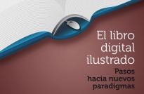 Detalle del cartel de la jornada «El libro digital ilustrado»